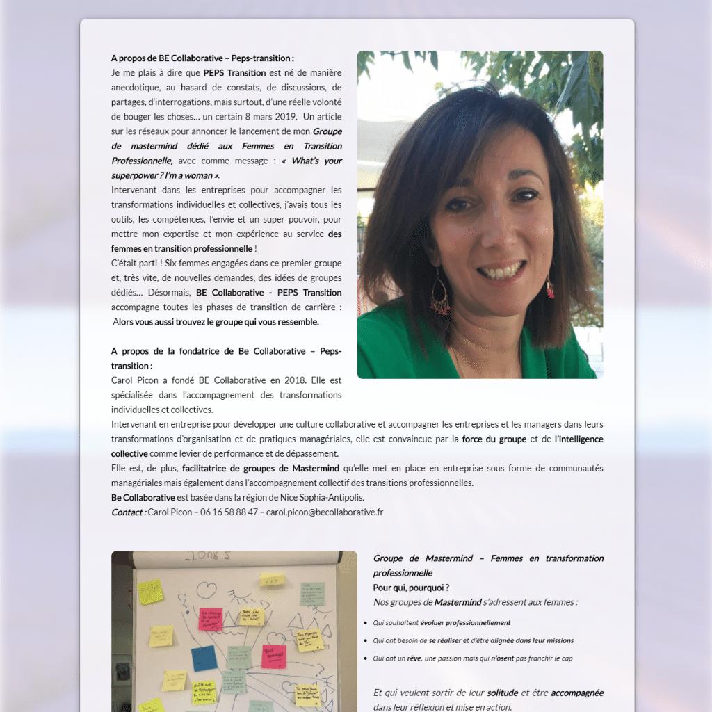 Be Collaborative Carol Picon Article presse